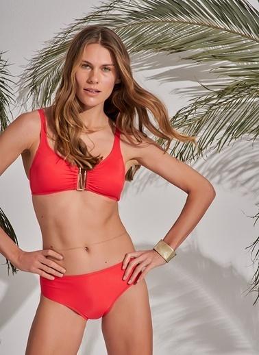 Morhipo Beach Aksesuar Detaylı Bikini Kırmızı